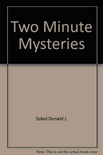 Two Minute Mysteries (0590412922) by Sobol, Donald J.