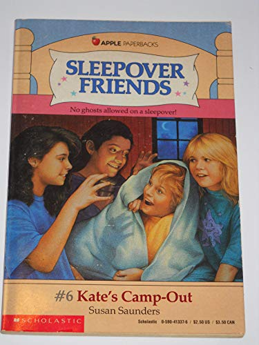 9780590413374: Kate's Camp-Out (Sleepover Friends)