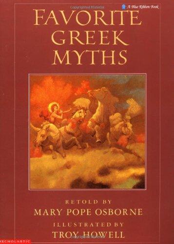 9780590413398: Favorite Greek Myths