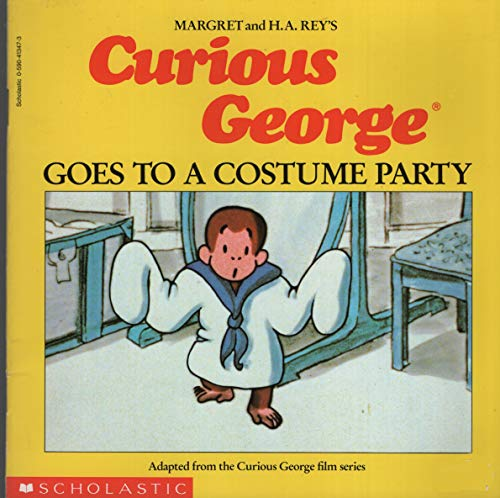 9780590413473: Curious George Goes To a Costume Party