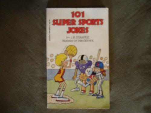 9780590414357: 101 Super Sports Jokes