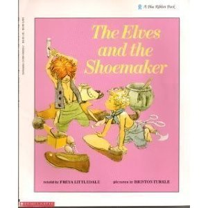 The Elves and the Shoemaker; A Blue: retold by FREYA