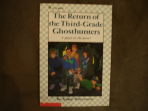 9780590419444: The Return of the Third-Grade Ghosthunters (A Little Apple Paperback)
