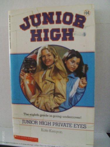 9780590420280: Junior High Private Eyes