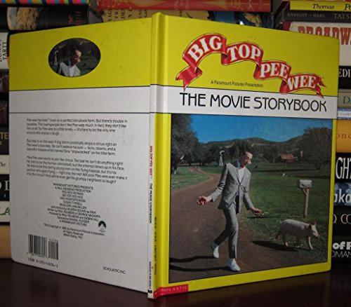 9780590422062: Big Top Pee-wee: The Movie Storybook
