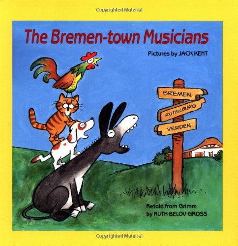 9780590423649: The Bremen-town Musicians (Easy-To-Read Folktales)