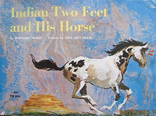Indian Two Feet and his horse: Margaret Friskey