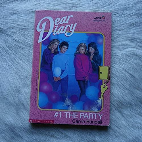 9780590424769: The Party (Dear Diary)