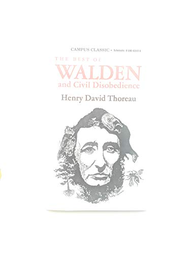 9780590425971: The Best of Walden and Civil Disobedience (Campus Classic)
