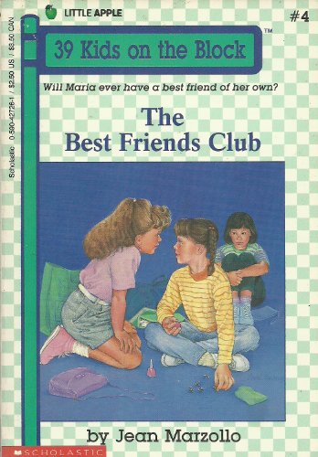 9780590427265: The Best Friends Club (39 Kids on the Block)