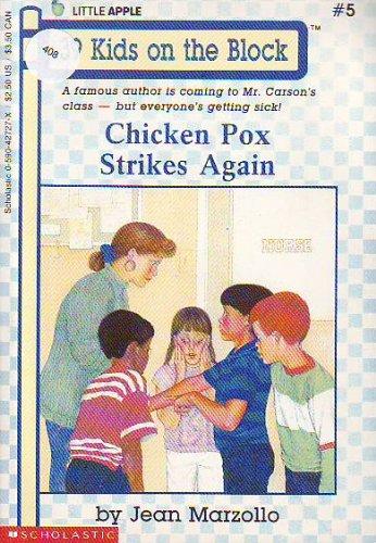 9780590427272: Chicken Pox Strikes Again (Little Apple)