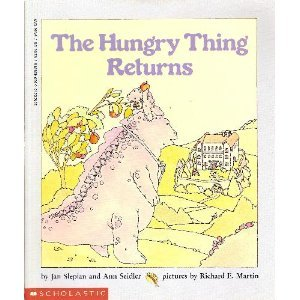 9780590428910: The Hungry Thing Returns