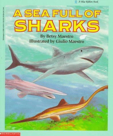 9780590431019: A Sea Full of Sharks (Blue Ribbon Book)