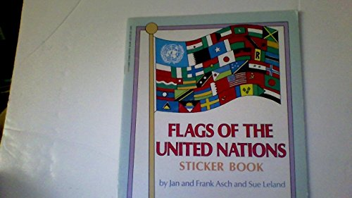 9780590431170: Flags of the United Nations Sticker Book