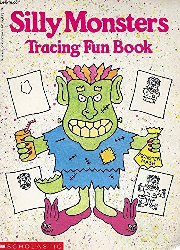 9780590435314: Silly Monsters Tracing Fun