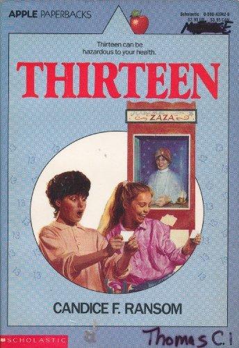 9780590437424: Thirteen (An Apple Paperback)