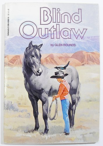 9780590438025: Blind Outlaw