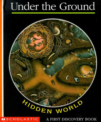 9780590438131: Hidden World: Under the Ground (A First Discovery Book)