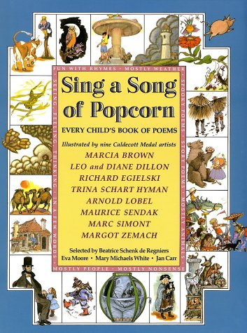 9780590439749: Sing a Song of Popcorn: Every Child 's Book of Poems (hc): Every Child's Book Of Poems