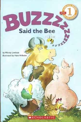 9780590441858: Buzz Said the Bee, Grade 1 (Hello Reader)