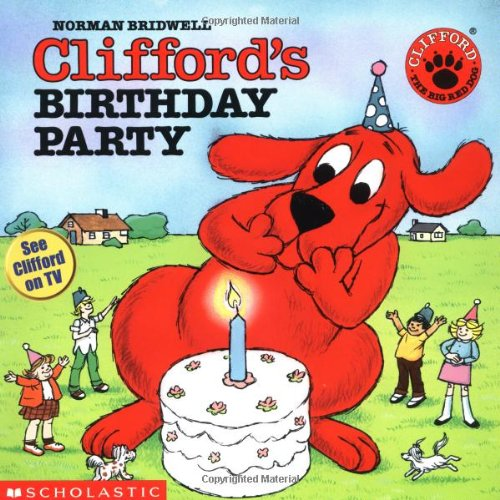 9780590442794: Clifford's Birthday Party (Clifford the Big Red Dog (Pape)