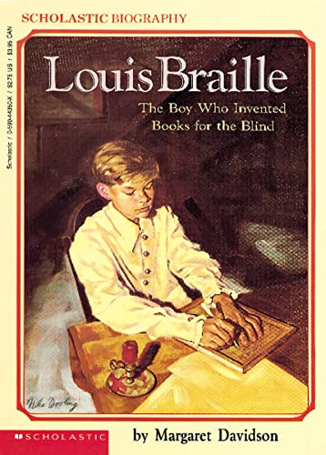 9780590443500: Louis Braille: The Boy Who Invented Books for the Blind (Scholastic Biography)