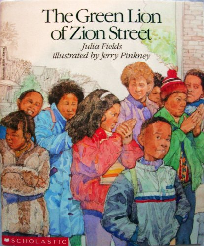 9780590443876: The Green Lion of Zion Street