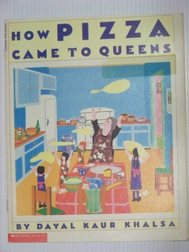 How Pizza Came to Queens 9780590444064 A delightful childrens book about childrens relationship with a mysterious lady and how she introduced them to pizza.