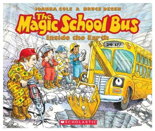 9780590444446: The Magic School Bus Inside the Earth