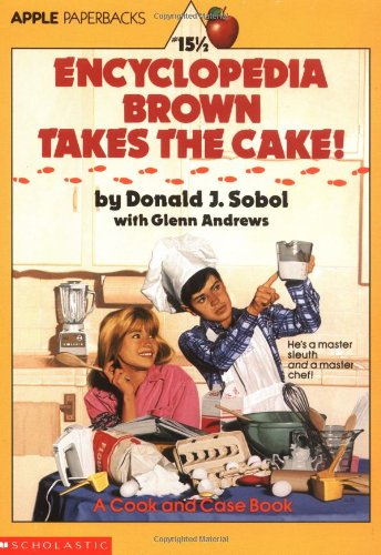 9780590445764: Encyclopedia Brown Takes the Cake!