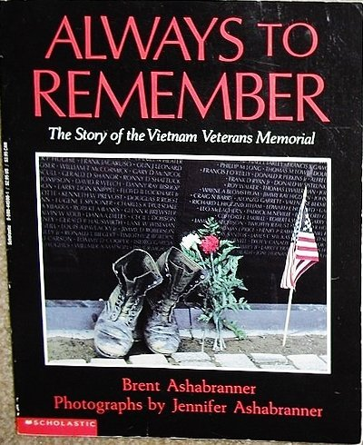9780590445900: Always to Remember: The Story of the Vietnam Veterans Memorial