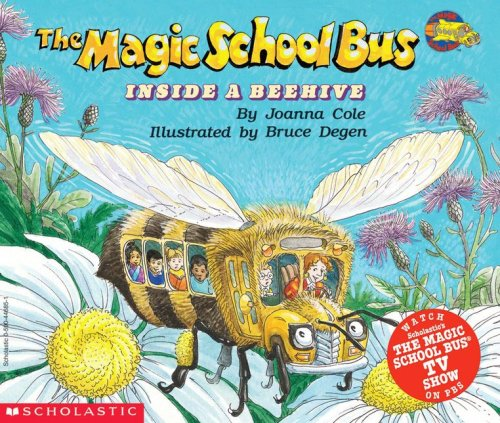 9780590446853: The Magic School Bus Inside a Beehive