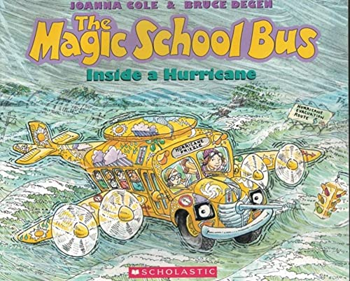 9780590446877: The Magic School Bus Inside A Hurricane