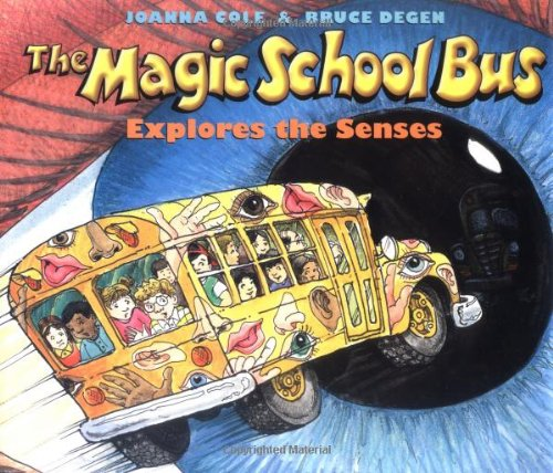 9780590446976: The Magic School Bus Explores the Senses