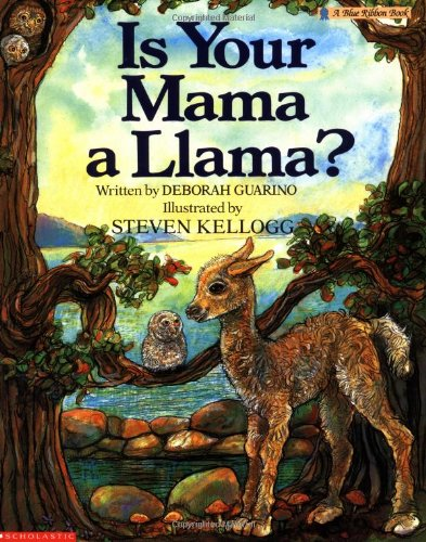 9780590447256: Is Your Mama a Llama (Blue Ribbon Book)