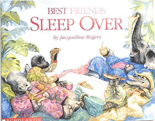 9780590447942: Best Friends Sleep Over