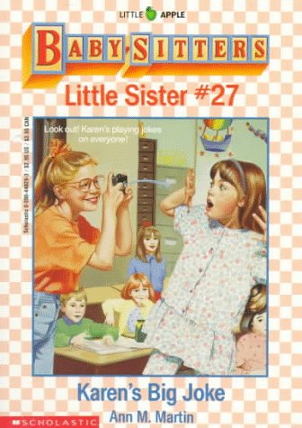 9780590448291: Karen's Big Joke (Baby-Sitters Little Sister, No. 27)