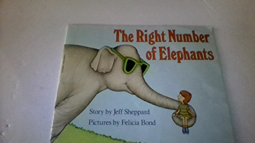9780590448390: The Right Number Of Elephants