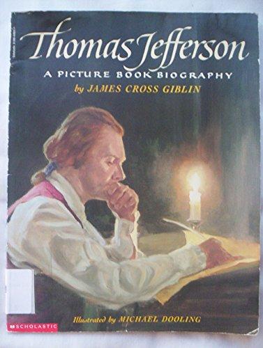 9780590448611: Thomas Jefferson: A Picture Book Biography
