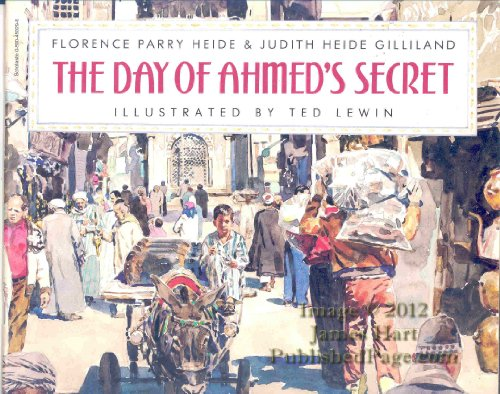 9780590450294: The Day of Ahmed's Secret