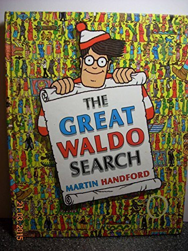 9780590451154: The Great Waldo Search by Handford, Martin (1989) Hardcover