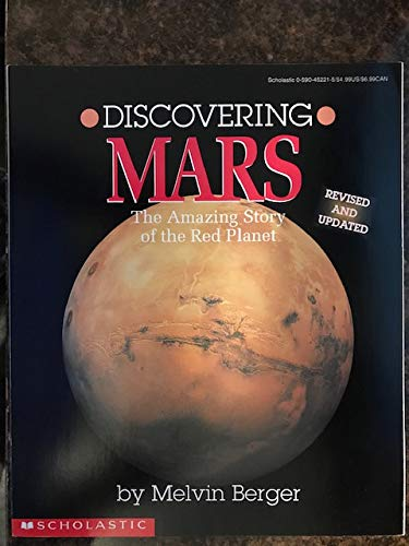 9780590452212: Discovering Mars: The Amazing Story of the Red Planet