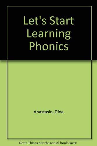 9780590452724: Let's Start Learning Phonics