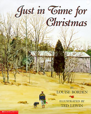 Just in Time for Christmas: Borden, Louise