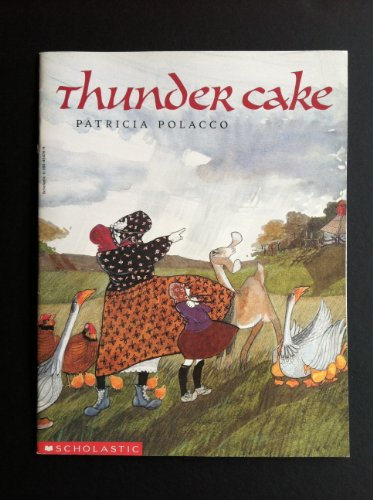 9780590454261: [Thunder Cake] (By: Patricia Polacco) [published: September, 1997]