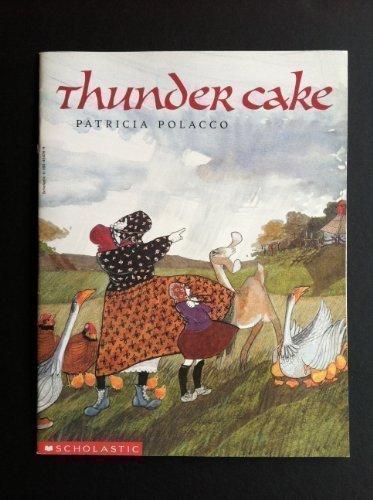 9780590454261: Thunder Cake
