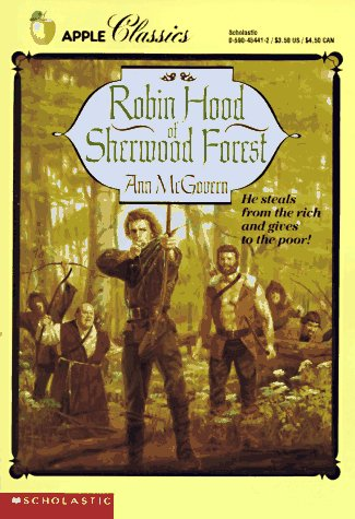 9780590454414: Robin Hood of Sherwood Forest (R)