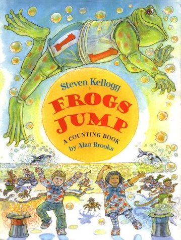 Frogs Jump: A Counting Book: Brooks, Alan