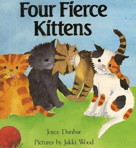 9780590455350: Four Fierce Kittens