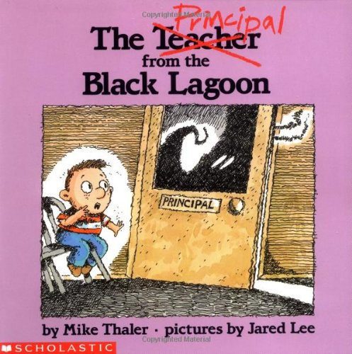 Black Lagoon Book Cover ~ The principal from black lagoon by mike thaler jared